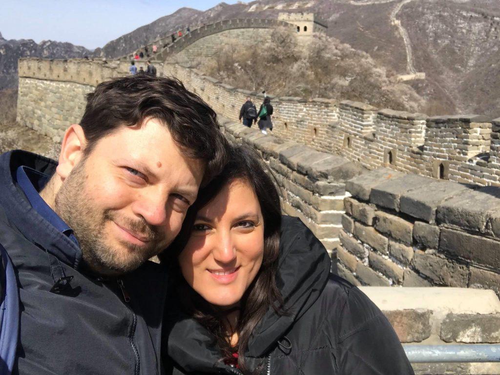 Pappice & Noce sulla Grande Muraglia