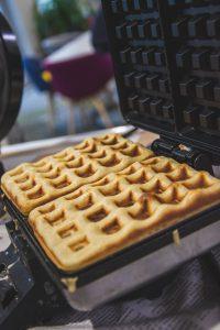 La piastra per i waffles