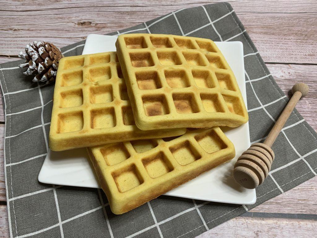 I waffles di Pappice & Noce